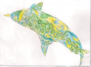 dauphin selon Van Gogh
